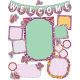 Positively Paisley Welcome Bulletin Board Set