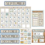 A Close-Knit Class Calendar Set Bulletin Board Set