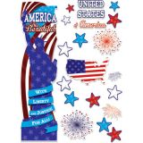 Patriotic All-In-One Door Decor Kit