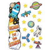 Outer Space All-In-One Door Decor Kit
