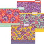Positively Paisley File Folders
