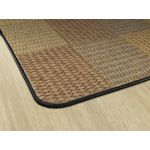 Cozy Basketweave Blocks™, Natural, 6' x 8'4