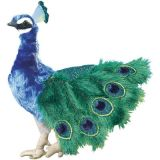 Peacock Hand Puppet