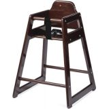 Neat Seat™ Hardwood High Chair, Antique Cherry