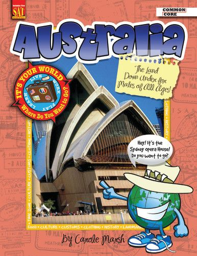 It's Your World™ Series, Australia: The Land Down Under for Mates of All  Ages!