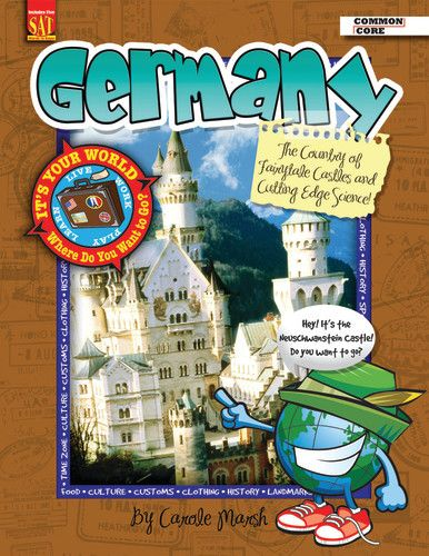 It's Your World™ Series, Germany: The Country of Fairytale Castles and  Cutting Edge Science!