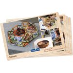 PowerClix® Frames Natural, 74-piece set
