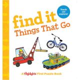 Find It Things That Go Board Book