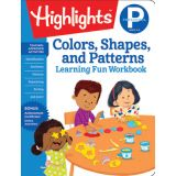 Highlights™  Learning Fun Workbooks, Preschool Colors, Shapes & Patterns