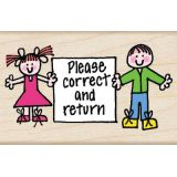 Please Correct and Return Stamp