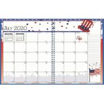 Academic Monthly Seasonal Planner