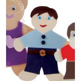 People Cut-Outs, 5 Wee Kid