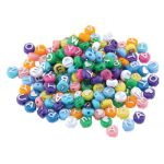 ABC Beads, Colored, 300 Count
