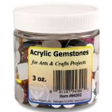 Acrylic Gemstones. 3 oz.