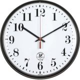 Chicago Lighthouse Slimline Wall Clock, 12.75, Atomic