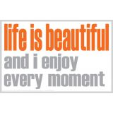 Life is Beautiful Magnet