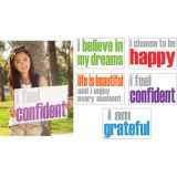 Confidence Posters, Pack of 5