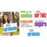 Confidence Posters, Spanish, Pack of 5