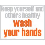 Wash Your Hands Posters, Set of 5
