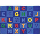 Patchwork Letters™ Rug, 7'8 x 10'9 Rectangle