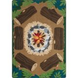 Campfire Fun™ Rug, 7'8 x 10'9 Rectangle