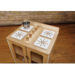 TrueModern® Play Kitchen, Stove