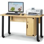 Jonti-Craft® Single Computer Lab Table