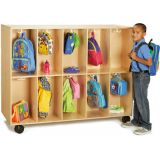 20-Section Mobile Backpack Cubbie