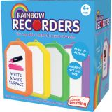 Rainbow Recorders, Set of 4