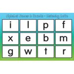 Listening Lotto: Alphabet Names & Sounds Game