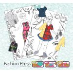 Fashion Press Deluxe Activity Kit