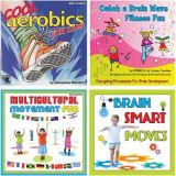 Fitness & Movement CD Set, Set of 4 CDs