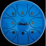Steel Tongue Drum - 8 Blue