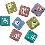 6-Sided Double Dice, Set of 8