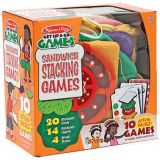 Stacking Sandwich Games