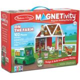 Magnetivity™ Magnetic Building Play Set: On the Farm