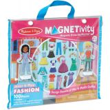 Magnetivity™ Magnetic Building Play Set: Dress & Play Fashion