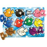 Fish Colors Mix 'n Match Peg Puzzle