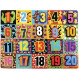 Jumbo Numbers Chunky Puzzle, 12 x 16, 20 pieces