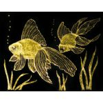 Metallic Foil Scratch-Art® Paper, 50 sheets