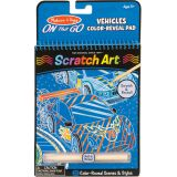 Scratch Art- Vehicles Color Reveal
