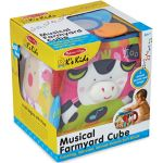K's Kids Musical Farmyard Cube