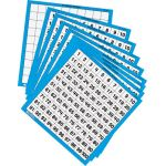 Laminated 1-100 Number Board