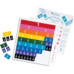 Rainbow Fraction®, Tiles with tray