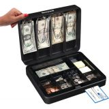 Honeywell Steel Cash Box, Deluxe
