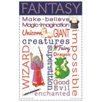 Literary Genres Chatter Charts, Set of 8