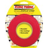Cling Thing® Display Strip, Red