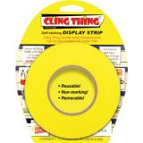 Cling Thing® Display Strip, Yellow