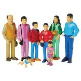 Pretend Play Families, Hispanic Family