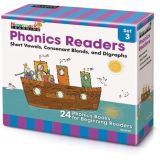Phonics Boxed Readers Set 3: Short Vowels, Consonant Blends, and Digraphs